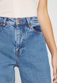Samsøe Samsøe - RILEY - Jeans Straight Leg - light ozone marble - 5