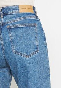 Samsøe Samsøe - RILEY - Jeans Straight Leg - light ozone marble - 3