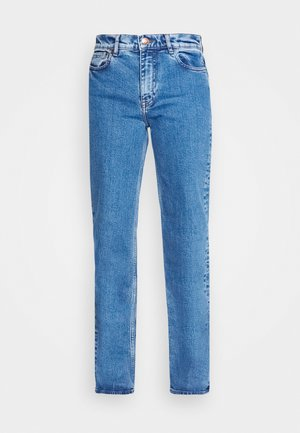 RILEY - Jeans Straight Leg - light ozone marble