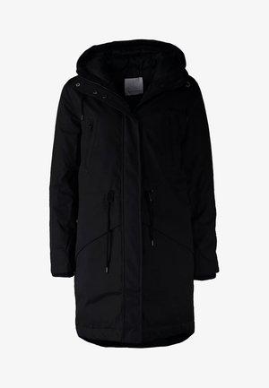 LUCCA - Kabát zprachového peří - black