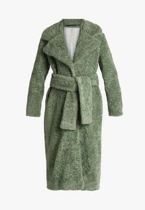 NAPER - Płaszcz wełniany /Płaszcz klasyczny - duck green