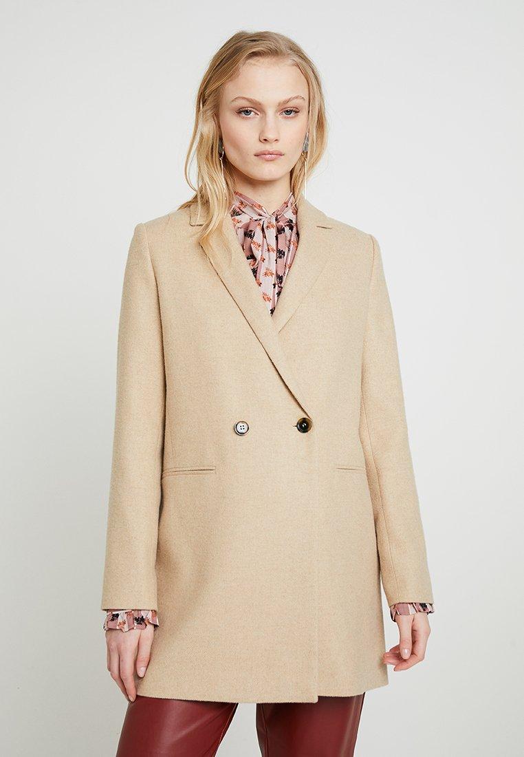 Samsøe & Samsøe - FLORAS JACKET - Classic coat - camel