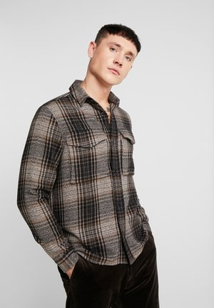 WALTONES OVERSHIRT - Overhemd - brown