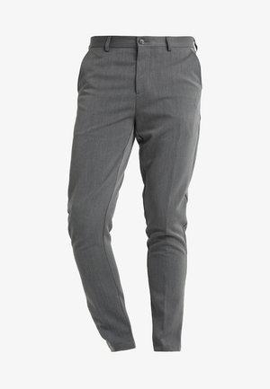 FRANKIE PANTS - Puvunhousut - grey melange