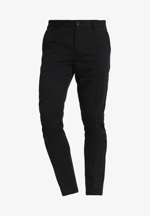 FRANKIE PANTS - Suit trousers - black