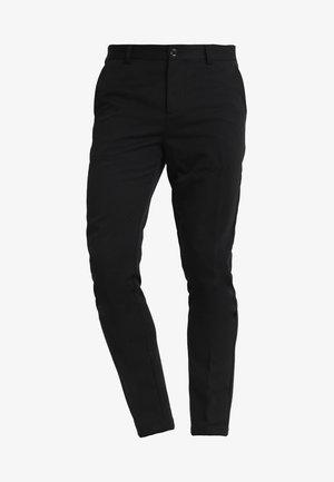 FRANKIE PANTS - Puvunhousut - black