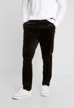 ANDY TROUSERS  - Trousers - chocolate torto
