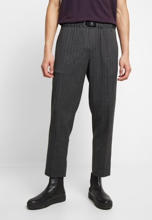 AGNAR TROUSERS  - Pantalon classique - grey melange