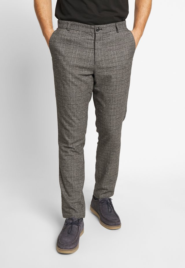 FRANKIE TROUSERS - Broek - grey melange