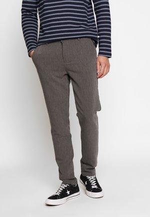 FRANKIE PANTS - Kalhoty - dark grey