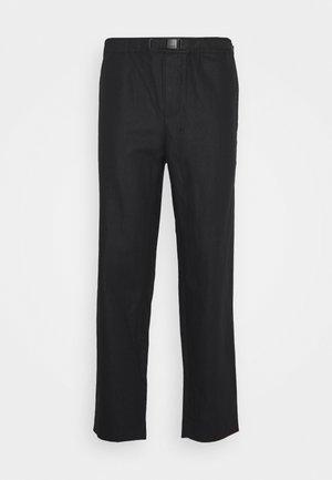 AGNAR TROUSERS  - Trousers - black