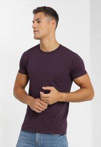 Samsøe Samsøe - KRONOS STRIPE - T-shirt print - purple - 0