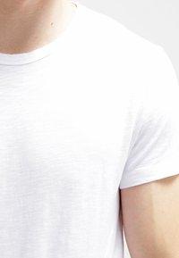 Samsøe Samsøe - LASSEN  - T-shirt basique - white - 4
