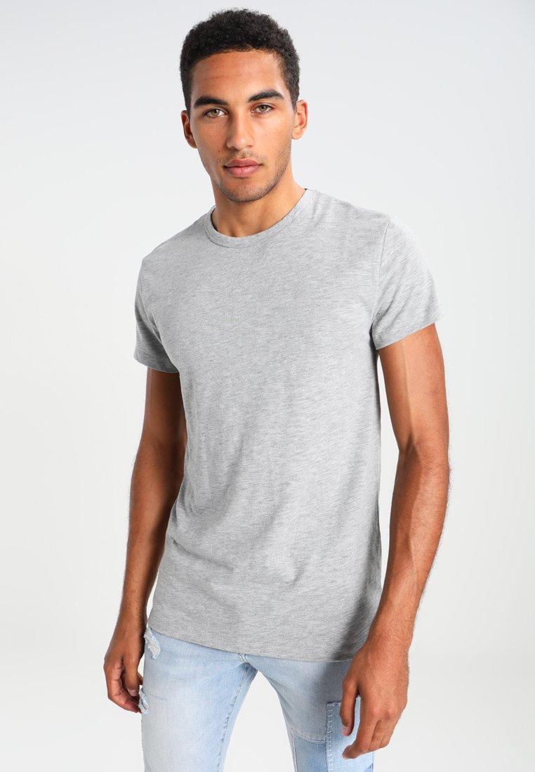Samsøe & Samsøe - LASSEN  - Basic T-shirt - grey melange