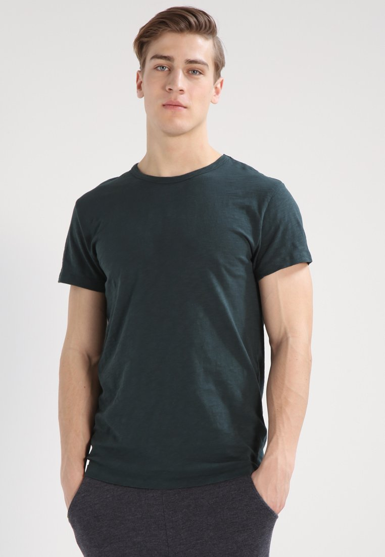 Samsøe Samsøe LASSEN  - T-shirt basic - darkest spruce