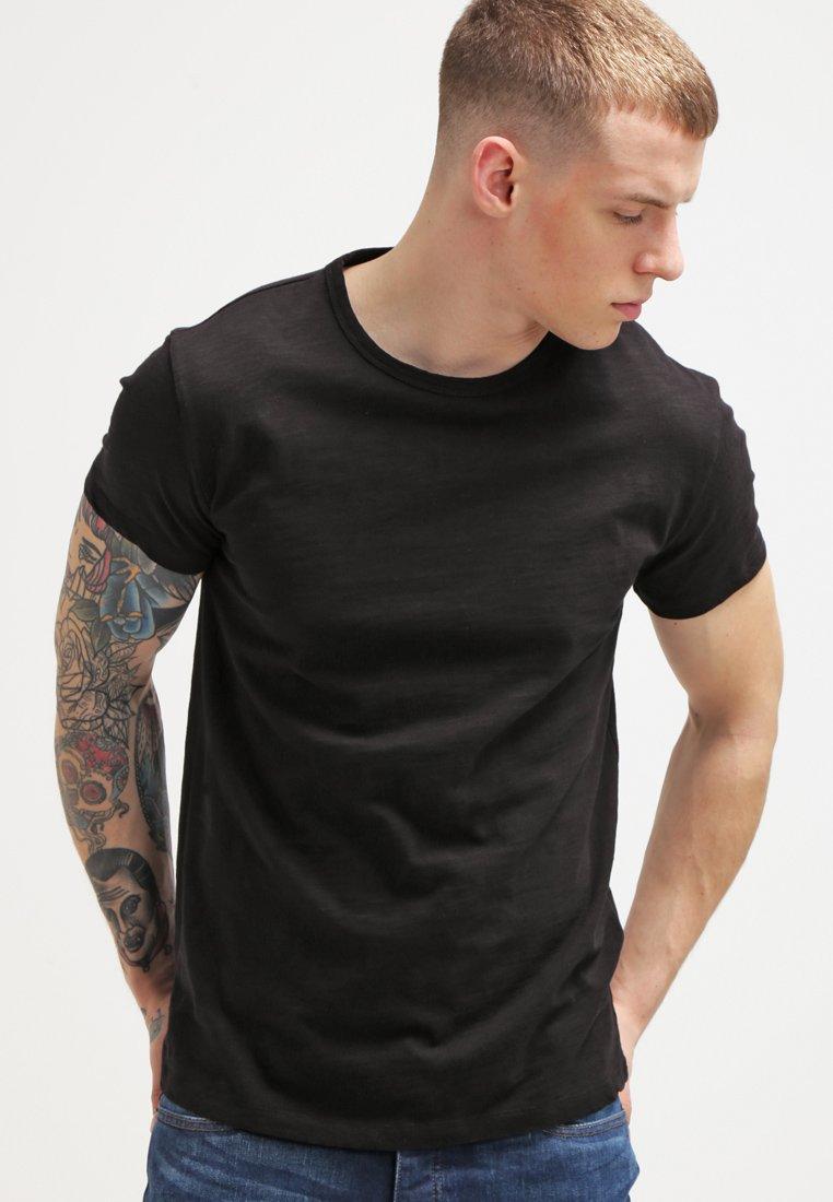 Samsøe & Samsøe - LASSEN  - Basic T-shirt - black