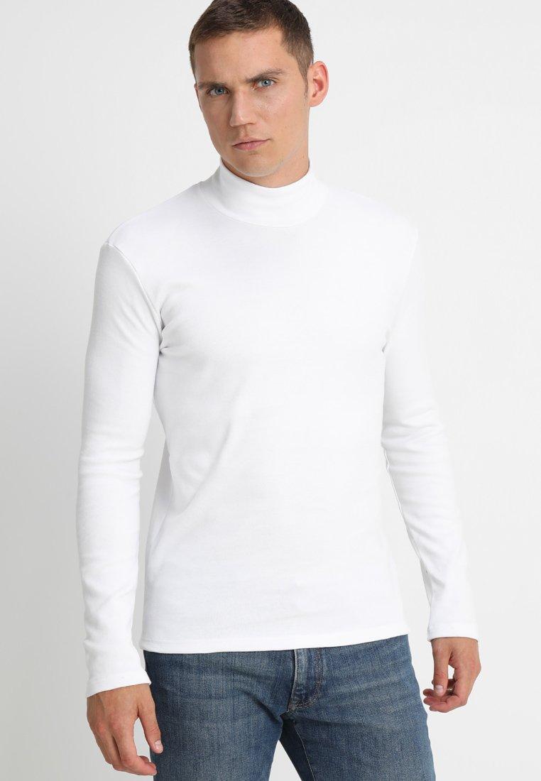 Samsøe Samsøe - MERKUR - Top sdlouhým rukávem - white