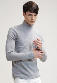 Samsøe Samsøe - MERKUR - Long sleeved top - light grey melange - 0