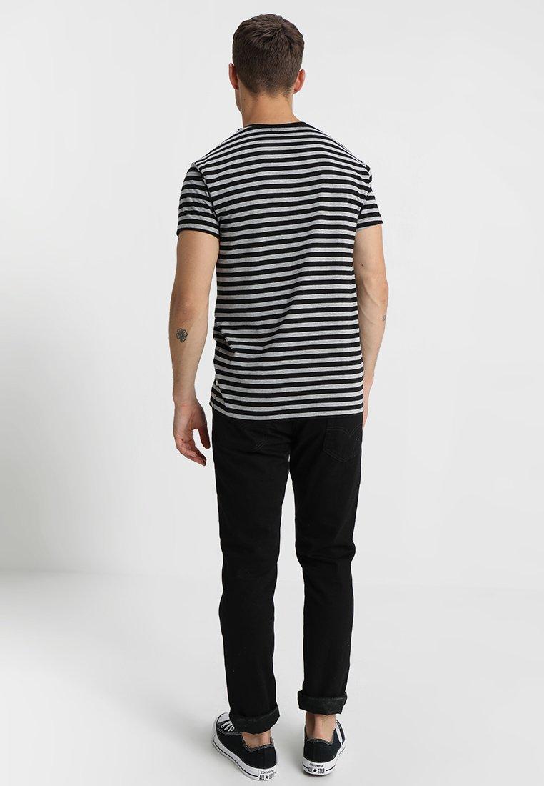 shirt PatrickT Imprimé Samsøeamp; grey Black OPiTZkuX
