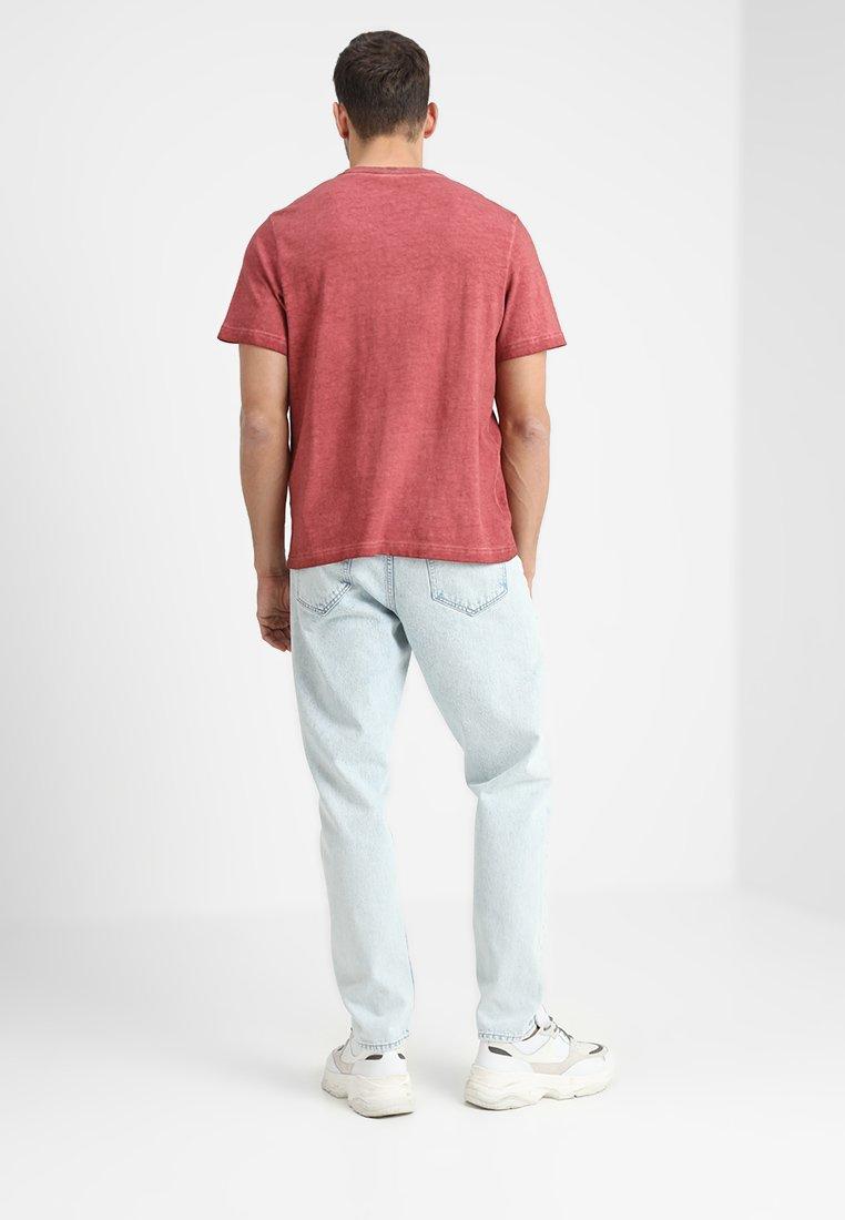 Basique Samsøeamp; shirt Brick Red TashT UGSMVLqpz
