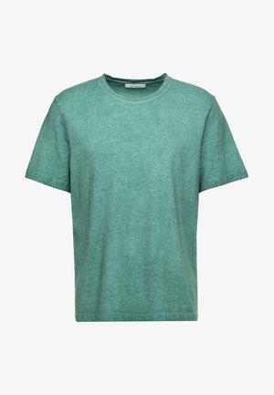 TASH  - Jednoduché triko - mallard green