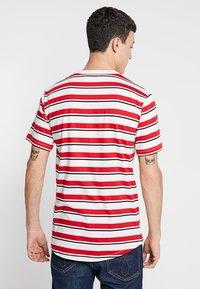 Samsøe Samsøe - BORDING - T-shirts med print - cherry - 2