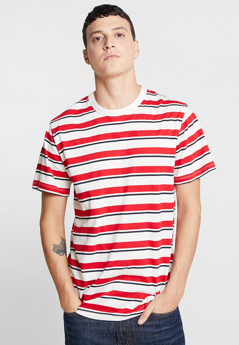 Samsøe Samsøe - BORDING - T-shirts med print - cherry