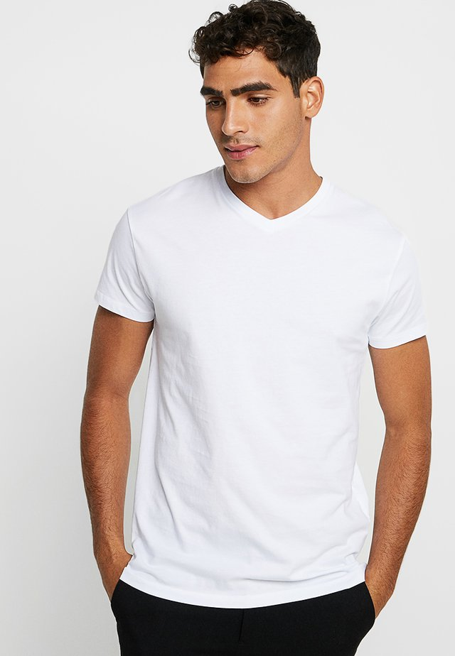 KRONOS - Basic T-shirt - white
