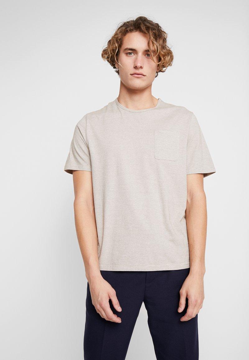Samsøe Samsøe - FINN - T-shirt med print - breen cream