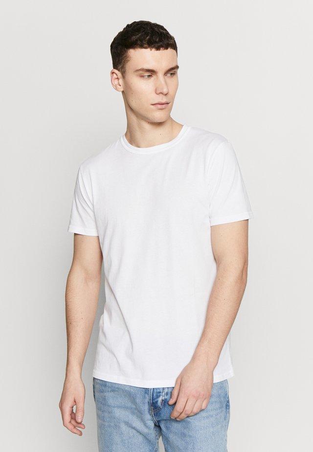 TOM - T-shirt - bas - white