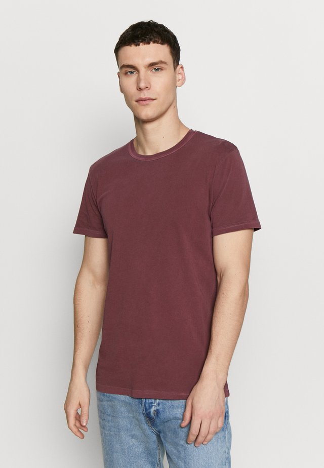 TOM - Basic T-shirt - tawny port