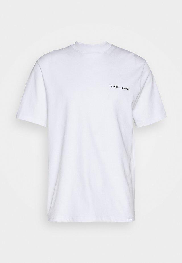 NORSBRO - T-shirt con stampa - white