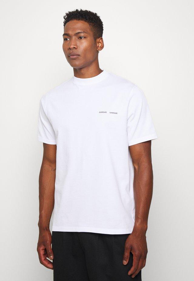 NORSBRO - T-shirt print - white