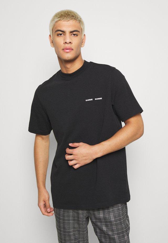 NORSBRO - T-shirt print - black