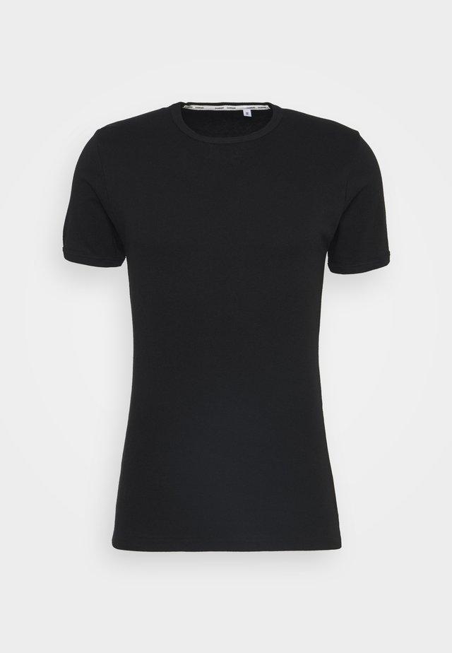 PLUTO - Basic T-shirt - black
