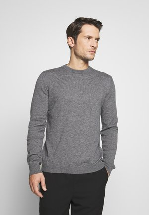 GEES - Pullover - dark grey melange
