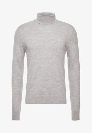 FLEMMING TURTLE NECK - Strikkegenser - grey