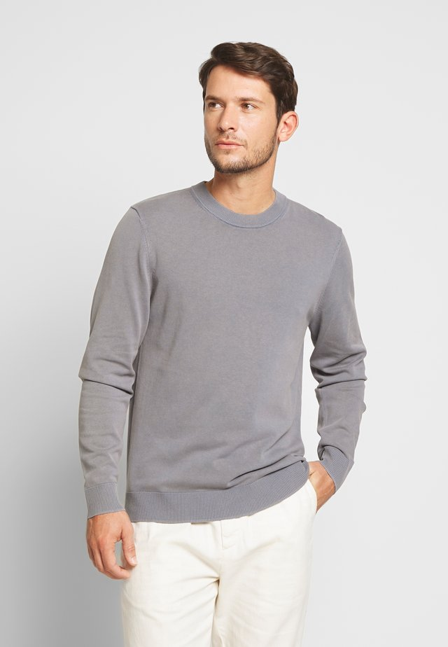 FERRIS CREW NECK - Strikkegenser - blue mirage