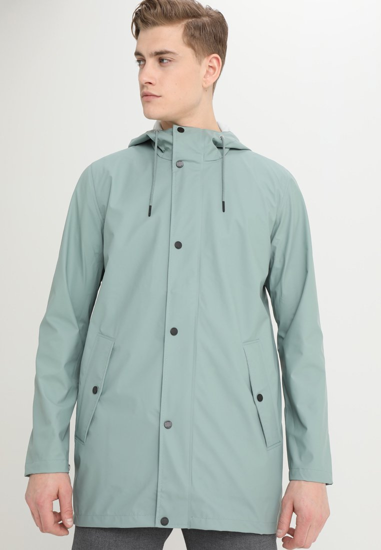 Samsøe & Samsøe - STEELY - Waterproof jacket - chinoise green
