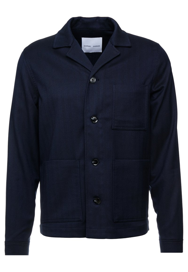 Samsøe Samsøe - NEW WORKER JACKET - Summer jacket - dark sapphire