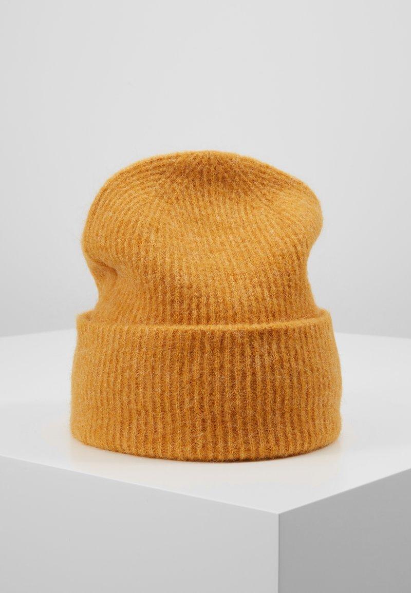 Samsøe & Samsøe - NOR HAT - Mütze - inca gold melange