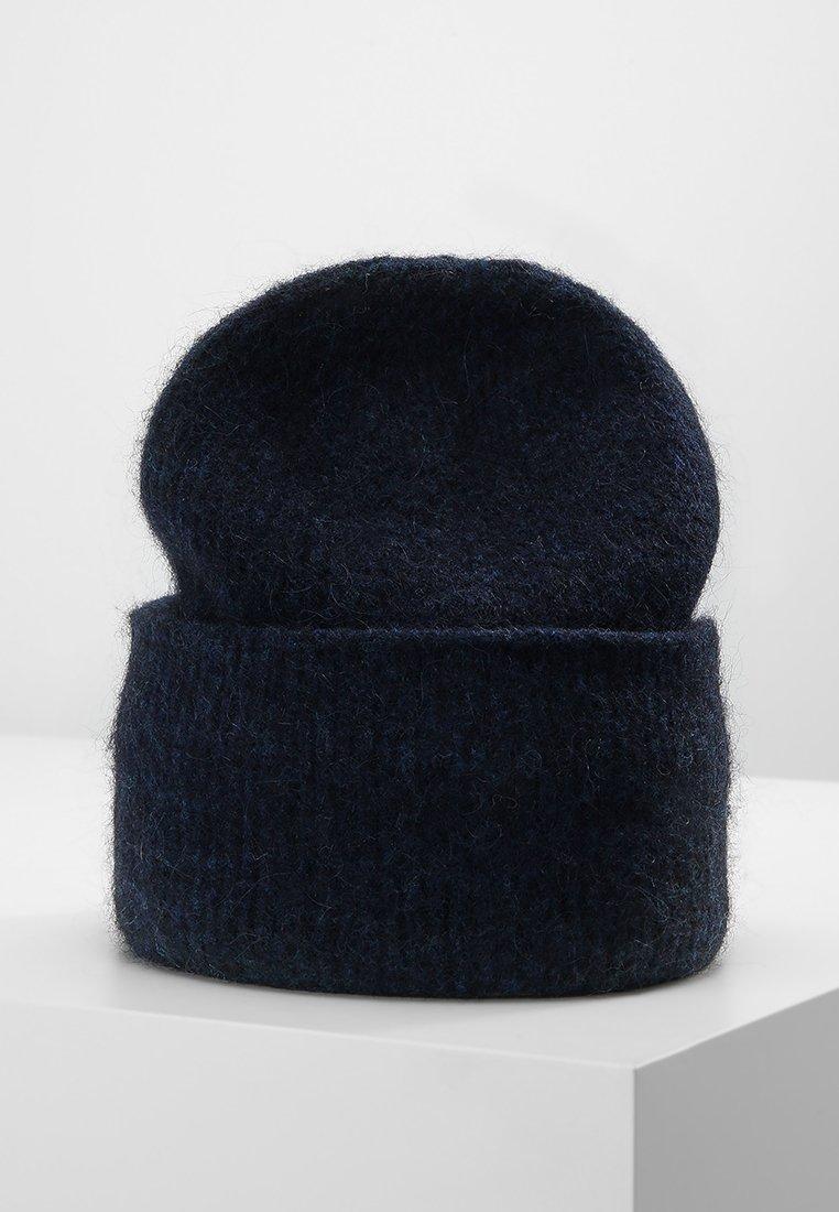 Samsøe Samsøe - NOR HAT - Lue - dark blue melange