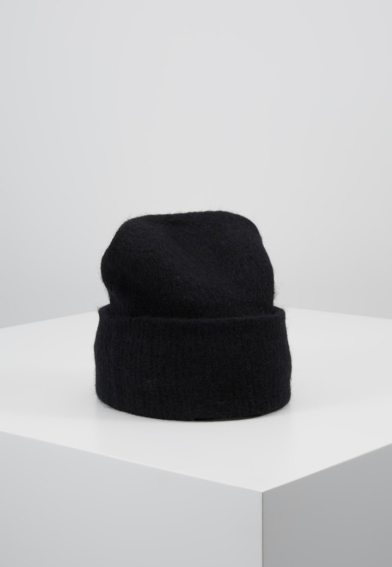 Samsøe Samsøe - NOR HAT - Bonnet - black