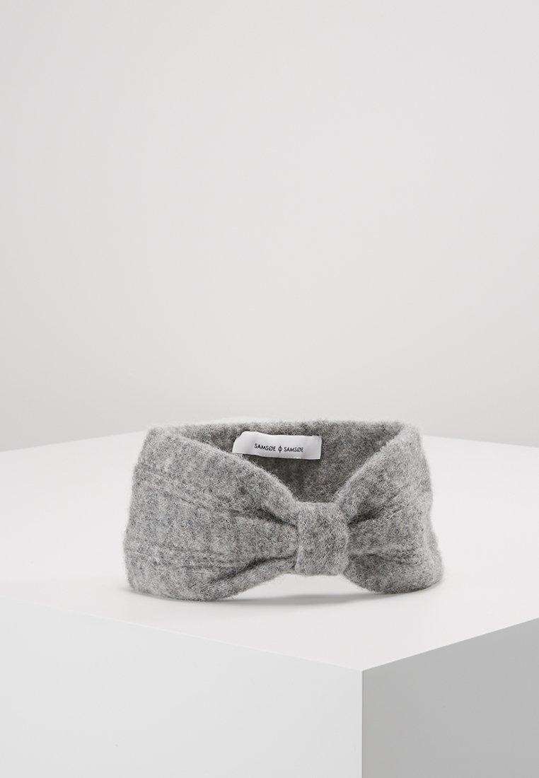 Samsøe Samsøe - HEADBAND - Ear warmers - grey