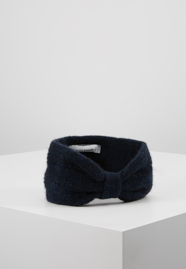 HEADBAND - Öronvärmare - dark blue melange