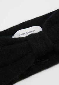 Samsøe Samsøe - HEADBAND - Ohrenwärmer - black - 4