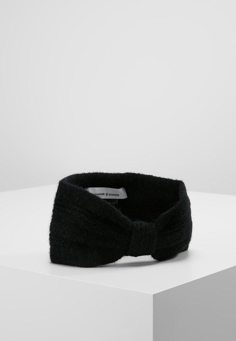 Samsøe & Samsøe - HEADBAND - Ear warmers - black