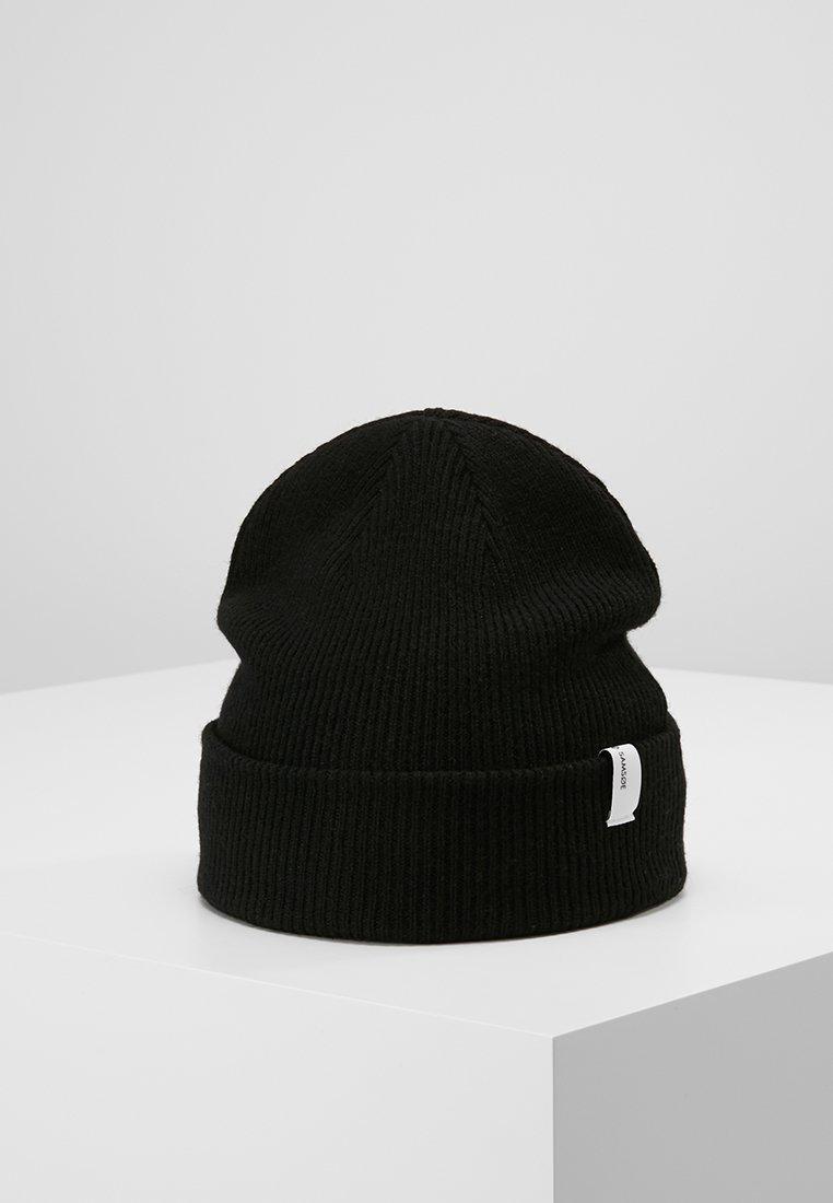 Samsøe Samsøe - BEENI HAT - Czapka - black