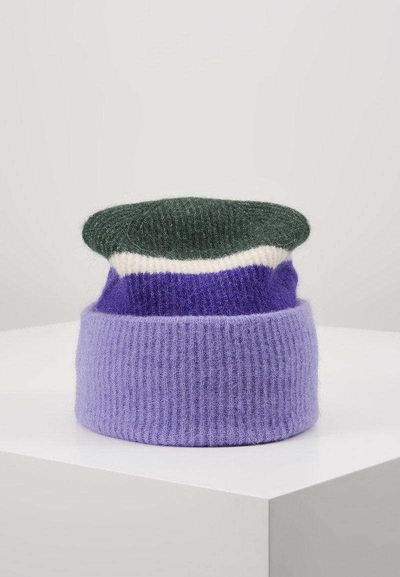 Samsøe Samsøe - NOR HAT - Czapka - aster purple