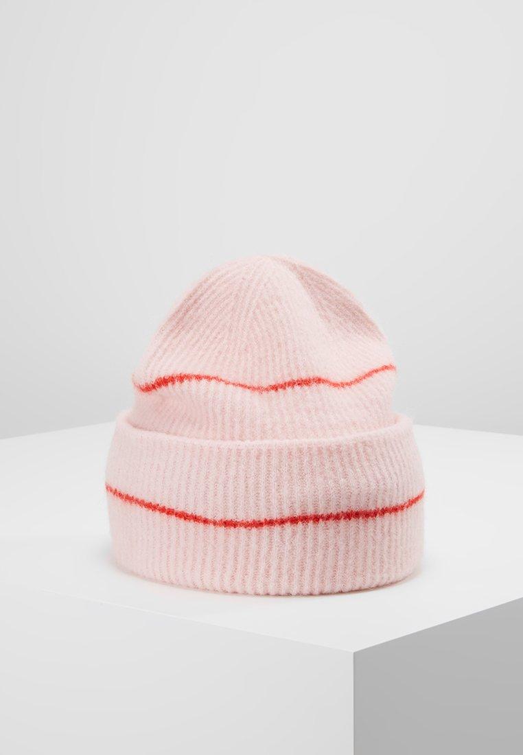 Samsøe Samsøe - NOR HAT - Czapka - blossom red